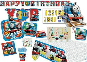 THOMAS THE TANK Tableware Party Decorations Birthday Supplies