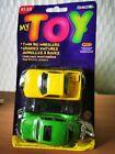 My Toy By Time 4 Toys Twin Big Wheelers VW Baja Bug MTO 12 MIB. 2000