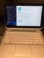 """HP Split X2 13-r100dx 13.3"""" Intel i3 1.50GHz 4GB 500GB WiFi 4G Tablet PC win 8.1"""