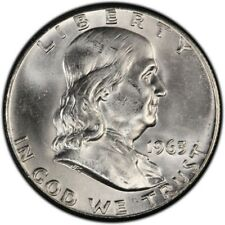 1963-P Franklin Half Dollar BU