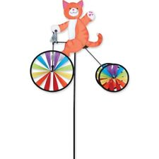 """19"""" CAT on a Tricycle Spinner, Yard Stake, Garden Decor by Premier Designs"""