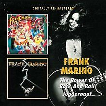 Frank Marino - The Power Of Rock And Roll, Juggernaut NEW CD