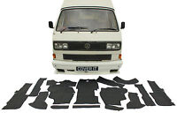 VW T25 Transporter Carpet Mats Full Set Rubber Backed Mat Camper