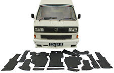 VW T25 Transporter Full 13 piece Carpet Set Mats Rubber Backed Mat Camper Van