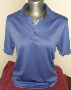 Under Armour Women's Loose Fit Short Sleeve Athletic Polo Size S (Petite)