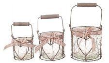 Tischständer- & - halter Deko-Windlichter im Landhaus-Stil
