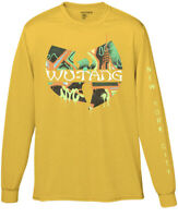 Wu-Tang Clan Men's Graffiti Graphic Long Sleeve T-Shirt