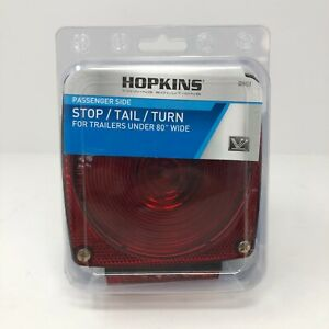 """Hopkins Passenger Side Stop/Tail/Turn Light For Trailers Under 80"""" Wide"""