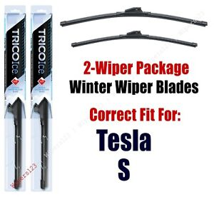 WINTER Wipers 2-Pack fits 2019 Tesla S - 35280/180