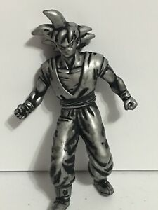 Lot Of 7 Silver Gold DBZ 2000 Dragon Ball Z  Burger King Action Figures New