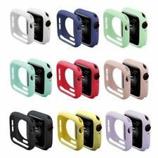 Colorful Soft TPU Watch Case For Apple Watch Series 4 Silicone Cover Protective