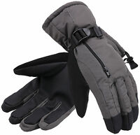 Men's Winter 3M Thinsulate Waterproof Touchscreen Ski Snow Gloves