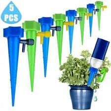 5pcs Automatic Water Drip Irrigation Control System Plant Watering Spike Device