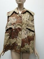 US ARMY PASGT Vest Cover Desert Camo Pattern Size Small Medium Military