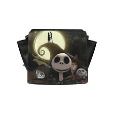 Brand New The Nightmare before Christmas Designed Women's Satchel Bag Handbag