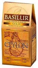 Basilur Island of Tea GOLD - Pure Ceylon Black Tea (OP1) 200g