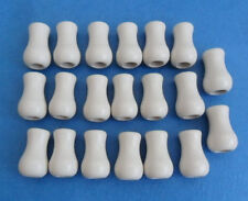 20 pcs Cord Wood Tassel Drops Pull End For Blind or Shade White Alabaster Cherry