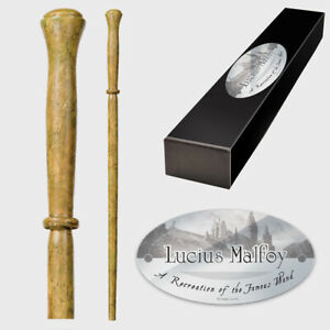 Harry Potter Lucius Malfoy Character Wand by Noble Collection NN8208 Magic Spell