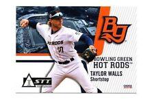 Taylor Walls 2018 Bowling Green Hot Rods team set card Florida State