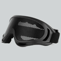 Hunting Airsoft Tactical Eyes Protection Metal Mesh Lens Goggle Glasses Outdoor