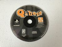 Q*bert - Playstation 1 PS1 - Cleaned & Tested
