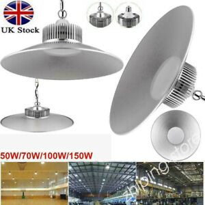 ⭐LED High Bay Light UFO Factory Warehouse Industrial Garage Light Cold white ZR
