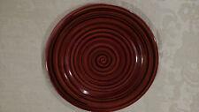 Plate Marco E Cristina Italy Multicolored brown Decorative