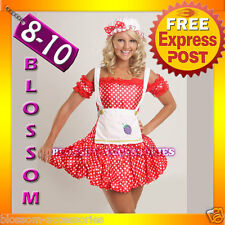 BL4 Strawberry Shortcake Fancy Dress Costume S/M 8/10