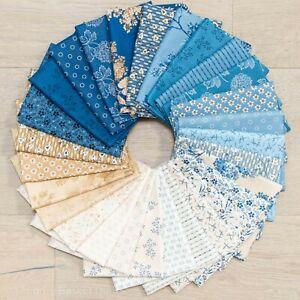 Blue Sky 28 Fat Quarter Bundle by Laundry Basket Quilts for Andover Fabrics