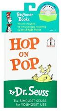 Beginner Books and CD: Hop on Pop by Dr. Seuss (2005, Paperback & Audio CD)