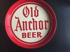 New listing Rare Vintage Old Anchor Beer Tray Brackenridge Brewing Pennsylvania Pre-1940
