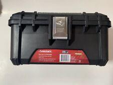 Husky Tool Box 16 Inch Plastic