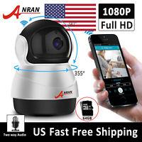 Wireless 1080P Security Camera System Baby Monitor Phone 2 Way Audio CCTV Indoor