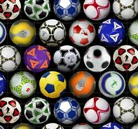 Elizabeth's Studio Sports Collection Soccer Balls 100% cotton Fabric by the yard