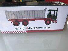 EDDIE STOBART : AEC ERGOMATIC ~ 6 WHEEL TIPPER TRUCK Brand New Sealed Box