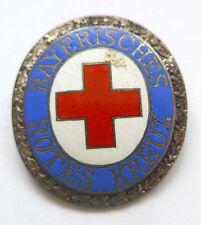 Anstecknadel --Deutsches Rotes Kreuz-- emailliert ovale Form