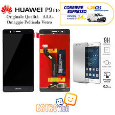 LCD DISPLAY SCHERMO CON TOUCH SCREEN COMPLETO HUAWEI P9 LITE ASSEMBLATO NERO
