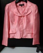 Kasper Coral Reef 10 Petite 2 Pc Jacket & Skirt Set~German Pink~NWT