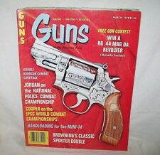 GUNS 3/1978~RUGER MINI-14 HANDLOADS~HAWES BUCCANEER~COLT FRONTIER~BROWNING B-SS