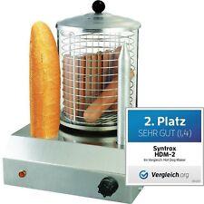 Hot Dog Maker SYNTROX HDM-2 mit 2 Spießen, Würstchenwärmer