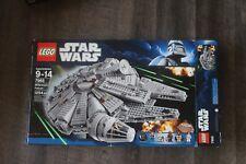 Lego Star Wars Millennium Falcon #7965 Complete w/ Original Box and Minifigures