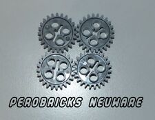 Lego Technic Technik 4 x Zahnrad 24 Zähne #3648 dunkelgrau NEUWARE