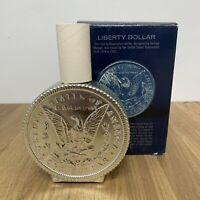 Vintage AVON Liberty Dollar Tribute After Shave Decanter