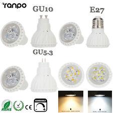 LED regulable Foco Bombillas GU10 E27 gu5.3 15w 2835SMD Lámpara 220v