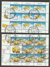 Slovenia 2008 EUROPA CEPT 2x Sheet Complete set First Day Cancel