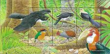 Salomon Islands block92 mint never hinged mnh 2005 Locals Birds