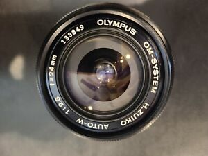 Olympus OM-System H.Zuiko Auto-W 24mm F/2.8 Wide Angle excellent condition