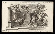 santino incisione 1700 B.GIACOMO DA ULMA.  klauber