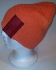 NWT ALFANI Beanie Hat ORANGE NFL Super Bowl NBA All-Star Week VALENTINE'S Skully