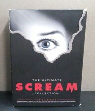 Scream: The Ultimate Collection-Scream 1, 2, & 3 (DVD) Box+Slipcover   LIKE NEW